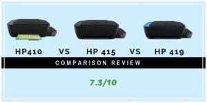 HP 410 Vs 415 Vs 419 Printer Comparison  Review