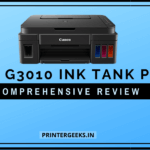 Canon G3010 Ink Tank Printer Review